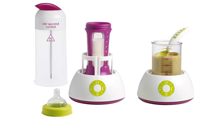 Bib Second Control flessenwarmer