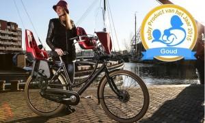 Gewonnen 2015: Bobike One Mini fietszitje