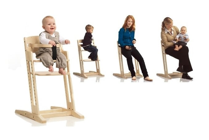 Baby Dan Meegroeistoel.Dan Chair Kinderstoel Babydan