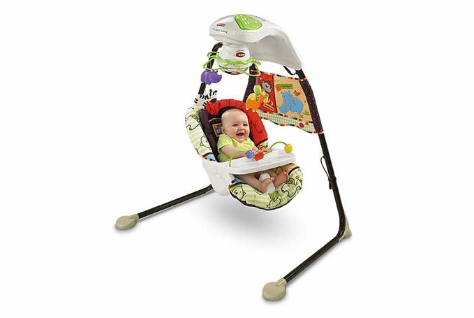 Fisher Price Babyzoo Schommelstoel