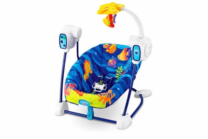 Verrassend Fisher Price schommelstoel Ocean Wonder RJ-33