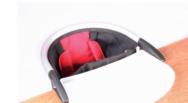 Kinderstoel Aan Tafel Vast.Lobster Tafelstoeltje Inklapbaar Baby Product Van Het Jaar