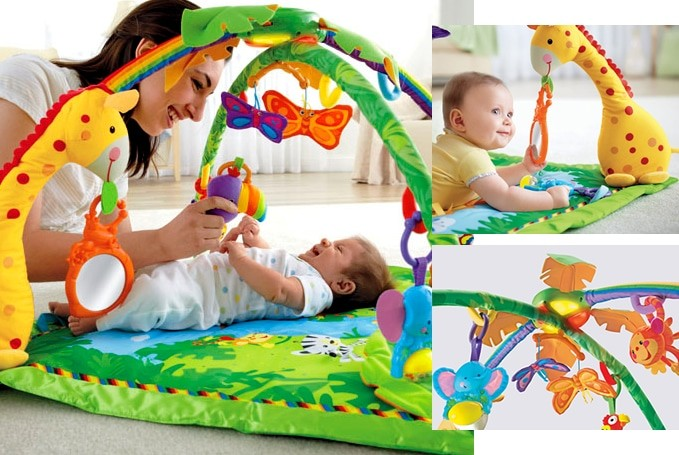 Rainforest speelkleed van FIsher Price