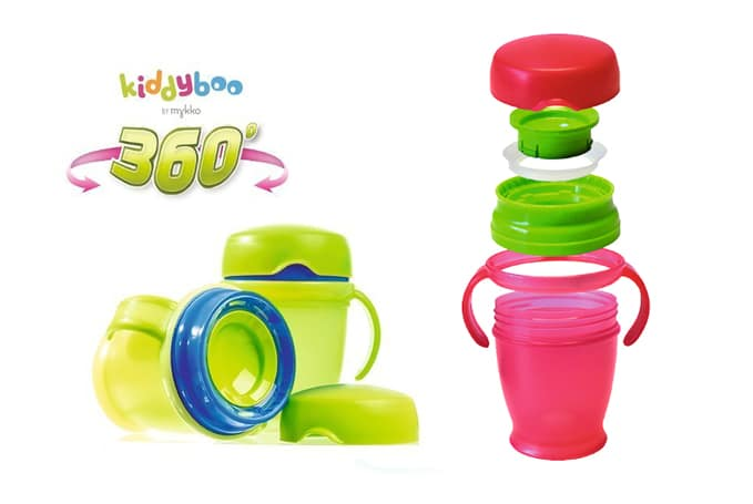 Kiddyboo 360 Anti Knoeibeker