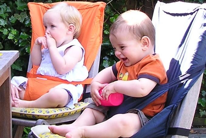 Sack en Seat kinderstoeltje