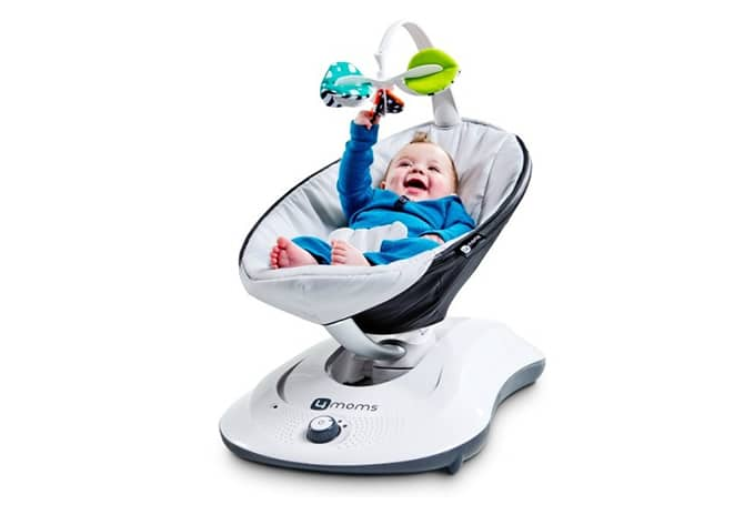 Baby Schommelstoel Automatisch.Rockaroo Wipstoel Schommelstoel Automatisch En Met Muziek