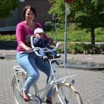 yepp fietszitje met moeder en kind